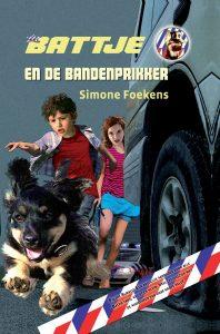 Battje en de bandenprikker, Simone Foekens, politiehond, speurhond, pup, politie